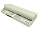 Baterie pro Asus Eee PC 701 - 6600 mAh, Li-ion bílá